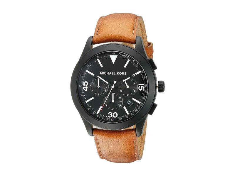 マイケルコース メンズ 腕時計 アクセサリー Gareth MK8450 - Black/Brown