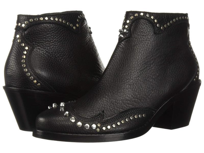 アレキサンダー・マックイーン レディース ブーツ・レインブーツ シューズ New Solstice Zip Boot Black