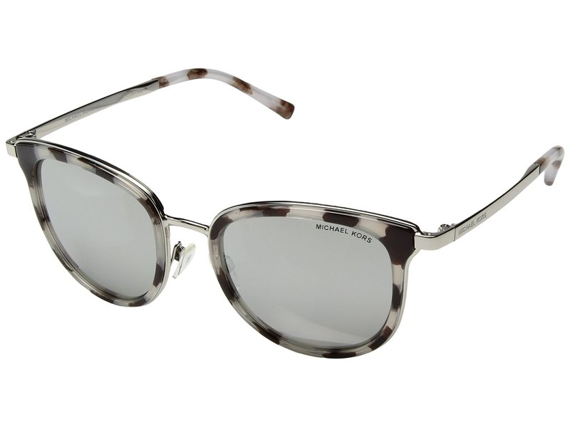 マイケルコース レディース サングラス・アイウェア アクセサリー Adrianna I MK1010 Snow Leopard/Silver Tone/Silver Mirror