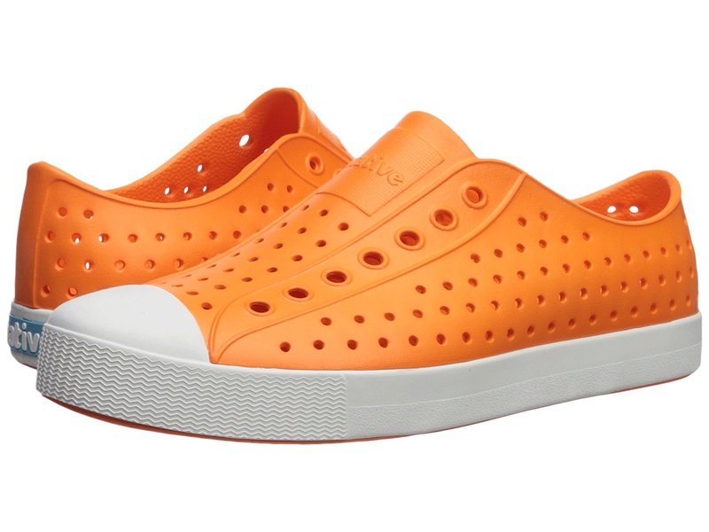 ネイティブ シューズ メンズ スニーカー シューズ Jefferson Sunset Orange/Shell White