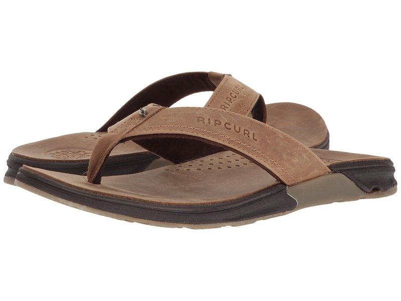 リップカール メンズ サンダル シューズ Ultimate Leather Tan