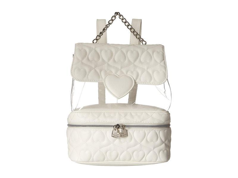 ベッツィジョンソン レディース バックパック・リュックサック バッグ Clear Backpack White