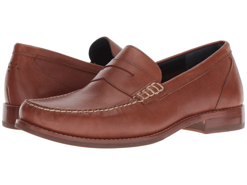 コールハーン メンズ スリッポン・ローファー シューズ Pinch Grand Casual Penny Loafer Woodbury Leather