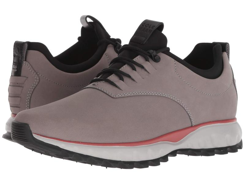 コールハーン メンズ オックスフォード シューズ Zerogrand Explore All-Terrain Oxford Waterproof Ironstone Nubuck/Syrah/Valiant Poppy/Black/Vapor Grey