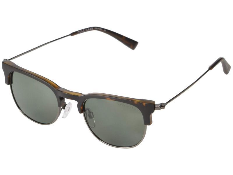 コールハーン メンズ サングラス・アイウェア アクセサリー CH6076 Matte Tortoise/Green