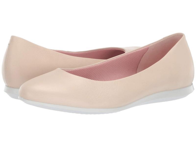エコー レディース サンダル シューズ Touch Ballerina 2.0 Vanilla Cow Leather