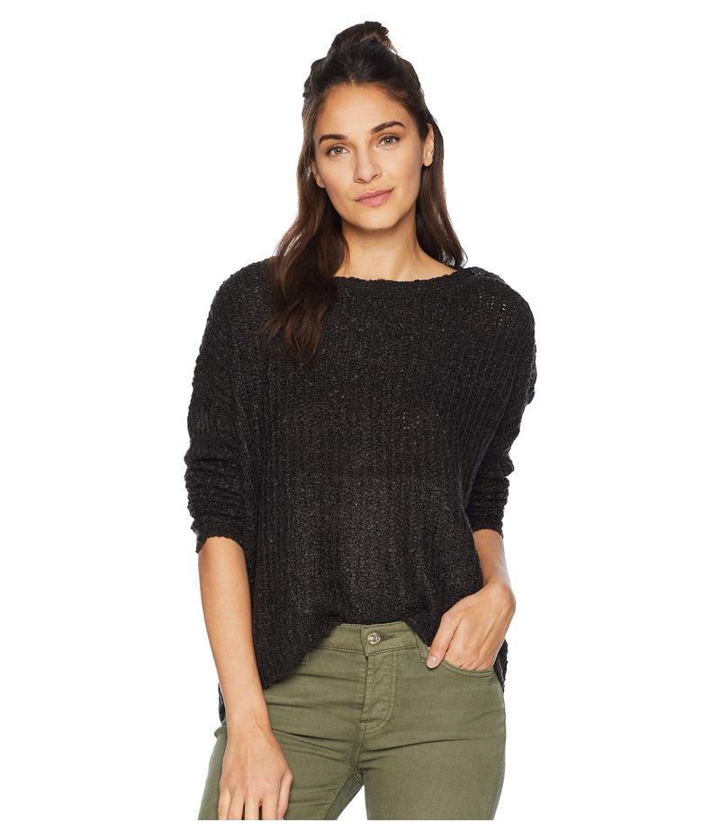 ジャック バイ ビービーダコタ レディース ニット・セーター アウター Level Up Buttoned Drop Shoulder Sweater Black