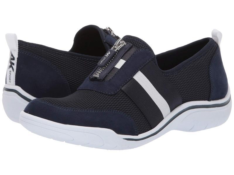 アンクライン レディース スニーカー シューズ Sport Genius Slip-On Sneaker Navy