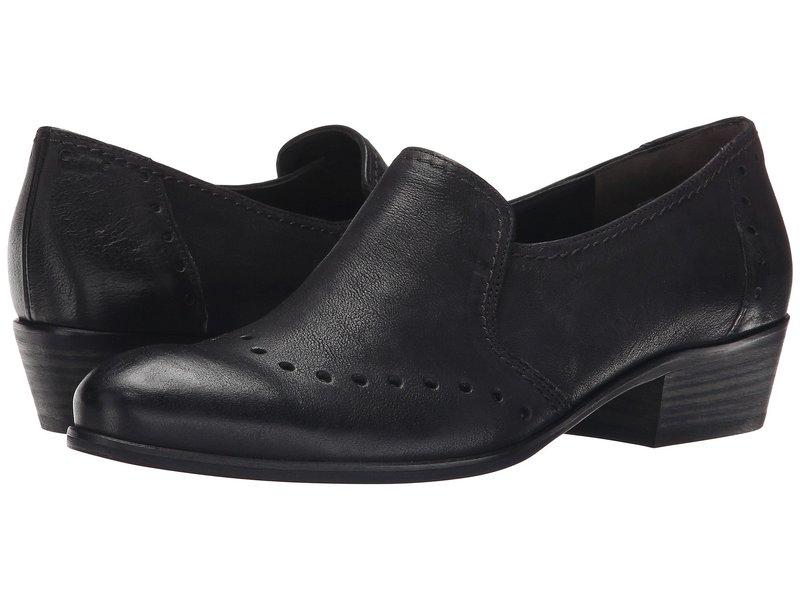 ポール・グリーン レディース スリッポン・ローファー シューズ Egan Slip-On Black Leather
