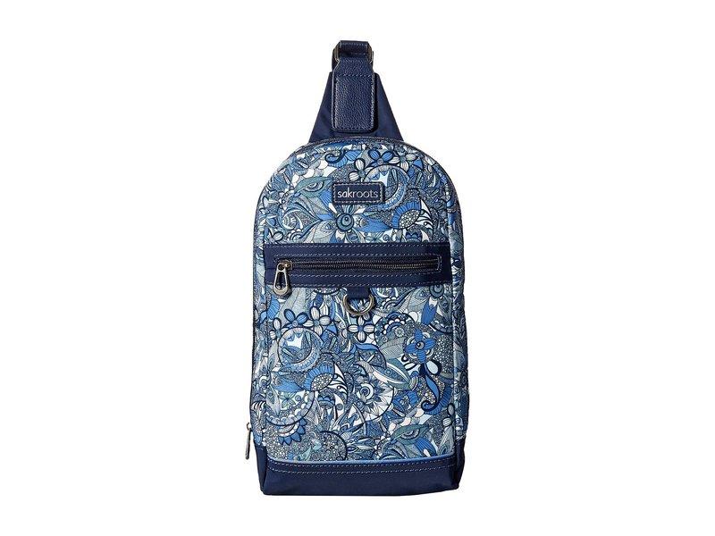 サックルーツ レディース バックパック・リュックサック バッグ New Adventure Hiker Sling Backpack Blue Steel Spirit Desert