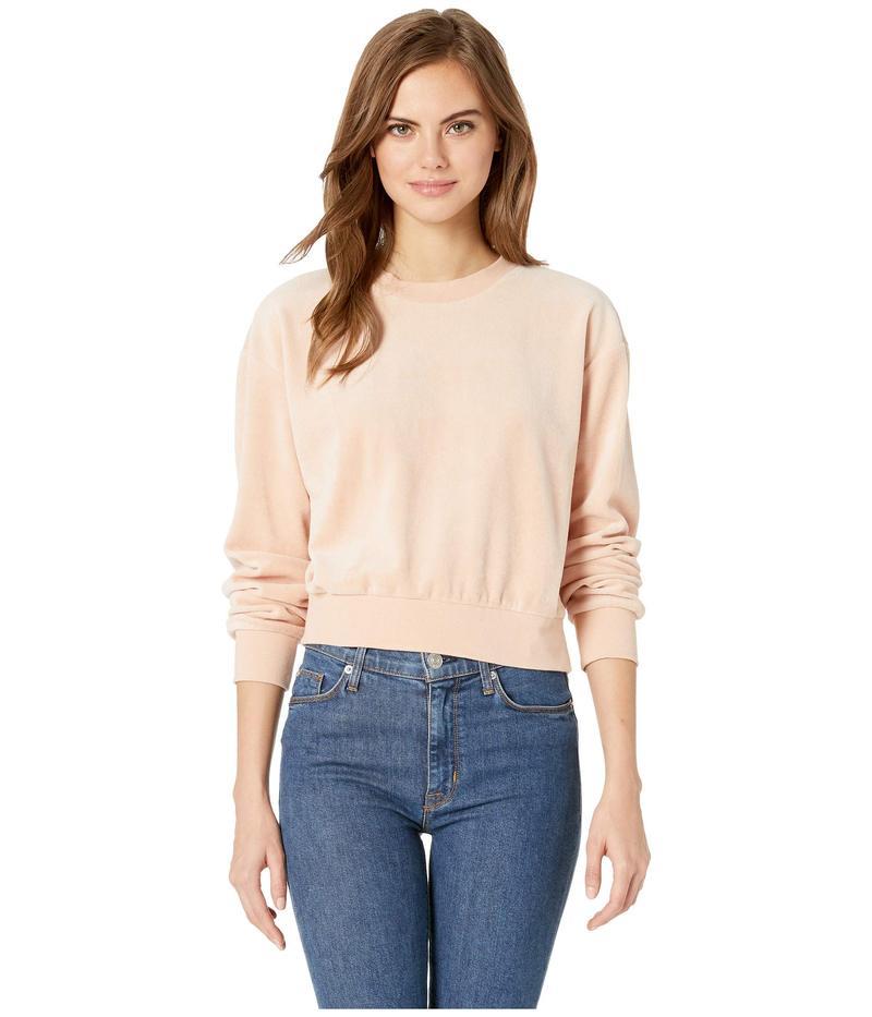 ルーカ レディース ニット・セーター アウター Babs Velour Fleece Sweater Tea Rose
