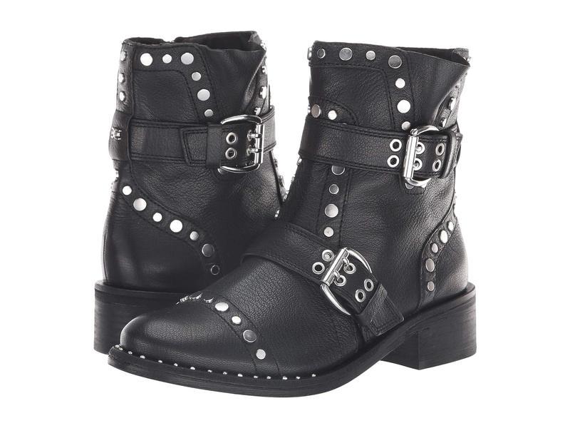 サムエデルマン レディース ブーツ・レインブーツ シューズ Drea Black Diablos Tumble Leather