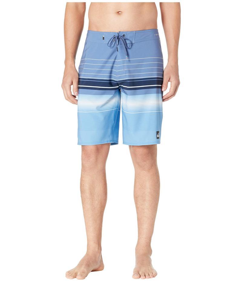 クイックシルバー メンズ ハーフパンツ・ショーツ 水着 Highline Swell Vision 20 Bijou Blue