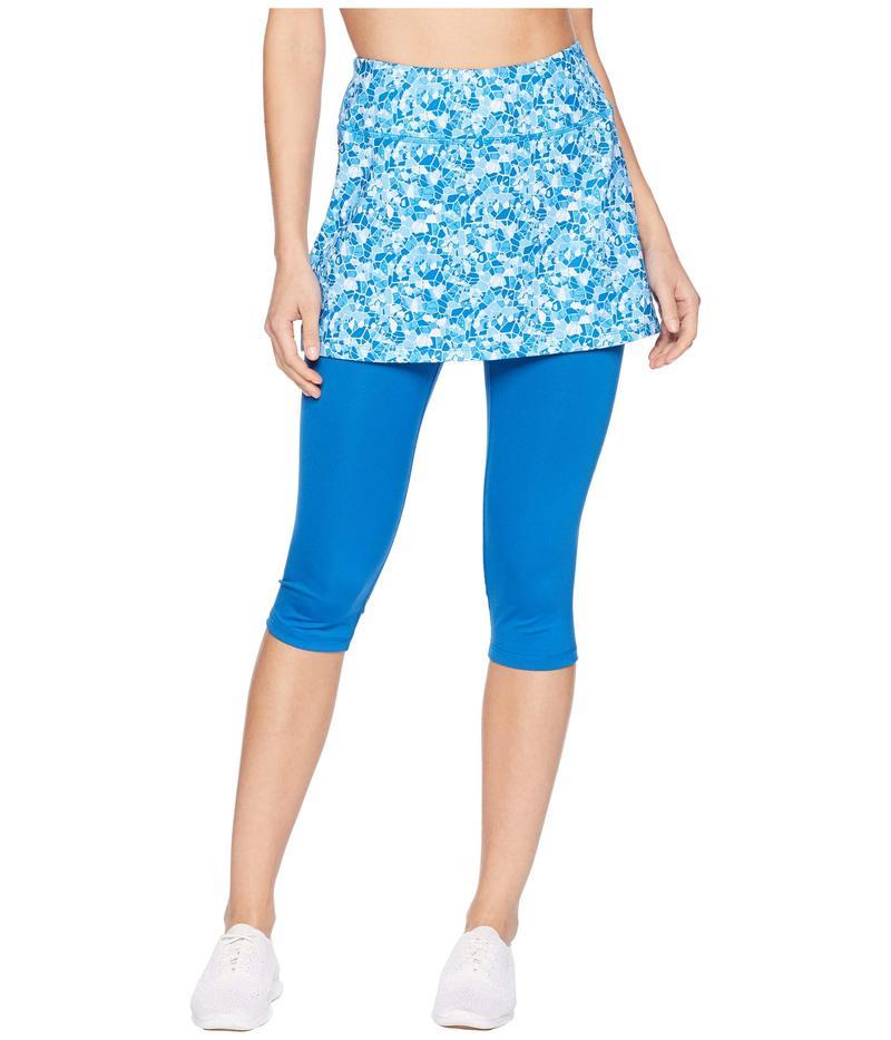 スカートスポーツ レディース カジュアルパンツ ボトムス Lotta Breeze Capri Shatter Print/True Blue