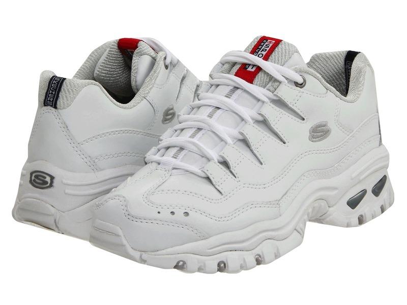スケッチャーズ レディース スニーカー シューズ Energy White Mesh/Leather