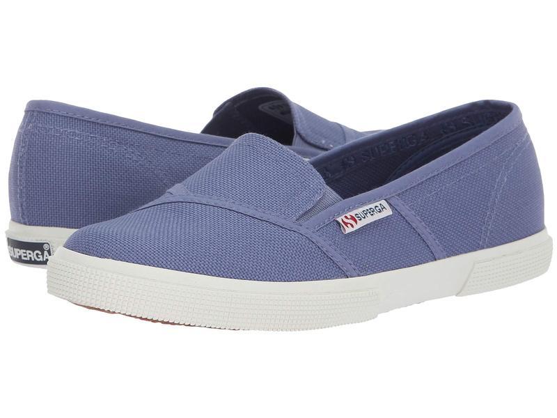 スペルガ レディース スニーカー シューズ 2210 COTW Slip-On Sneaker Vintage Blue