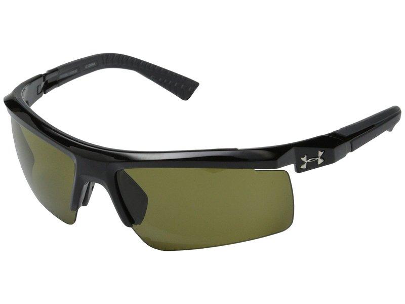 アンダーアーマー メンズ サングラス・アイウェア アクセサリー Core 2.0 Shiny Black/Charcoal Gray Frame/Game Day Lens