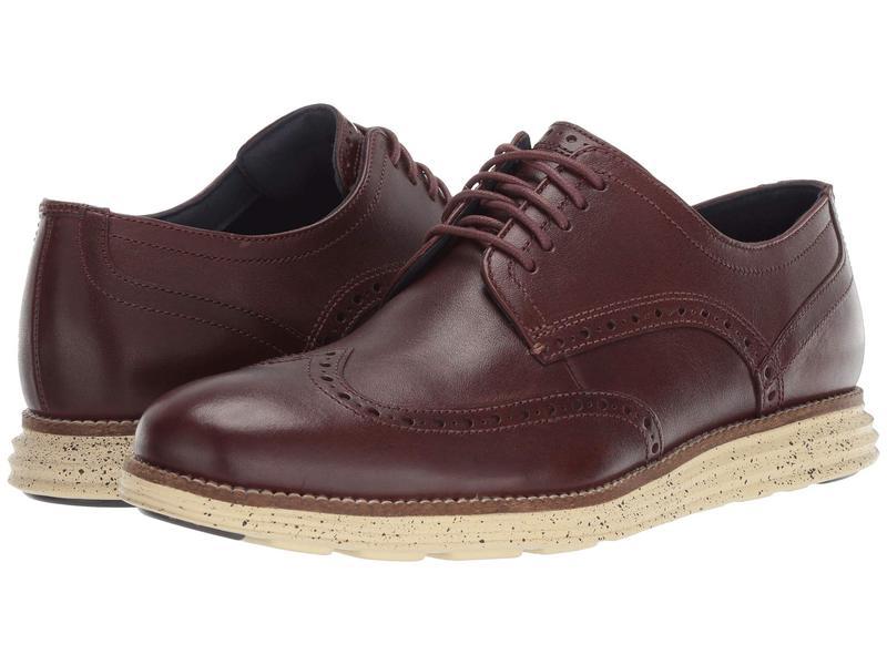 コールハーン メンズ オックスフォード シューズ Original Grand Wingtip Oxford Chestnut/Lambs Wool