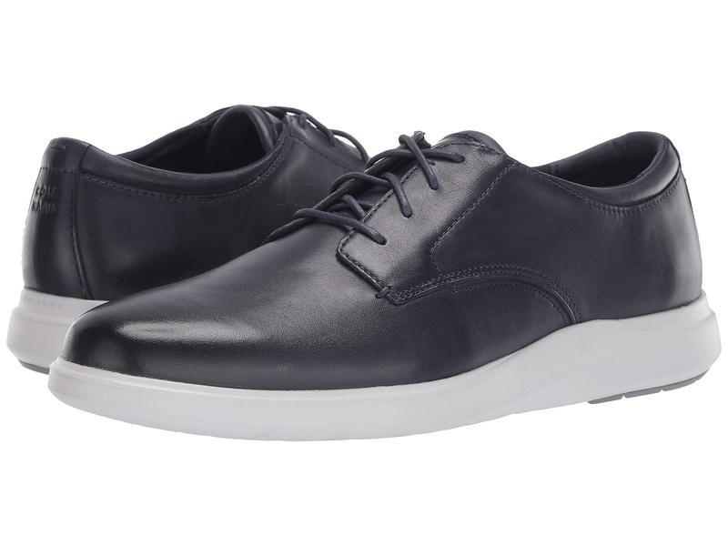 コールハーン メンズ オックスフォード シューズ Grand Plus Essex Wedge Oxford Navy Leather