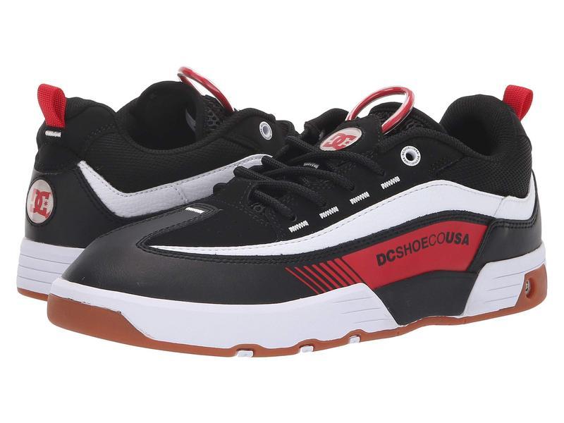 ディーシー メンズ スニーカー シューズ Legacy 98 Slim Black/Red/White