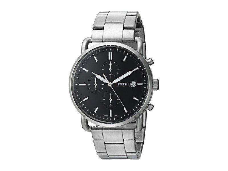 フォッシル メンズ 腕時計 アクセサリー The Commuter Chrono - FS5399 Silver