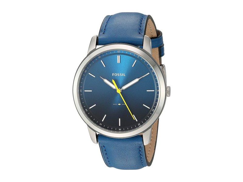 フォッシル メンズ 腕時計 アクセサリー The Minimalist 3H - FS5465 Blue