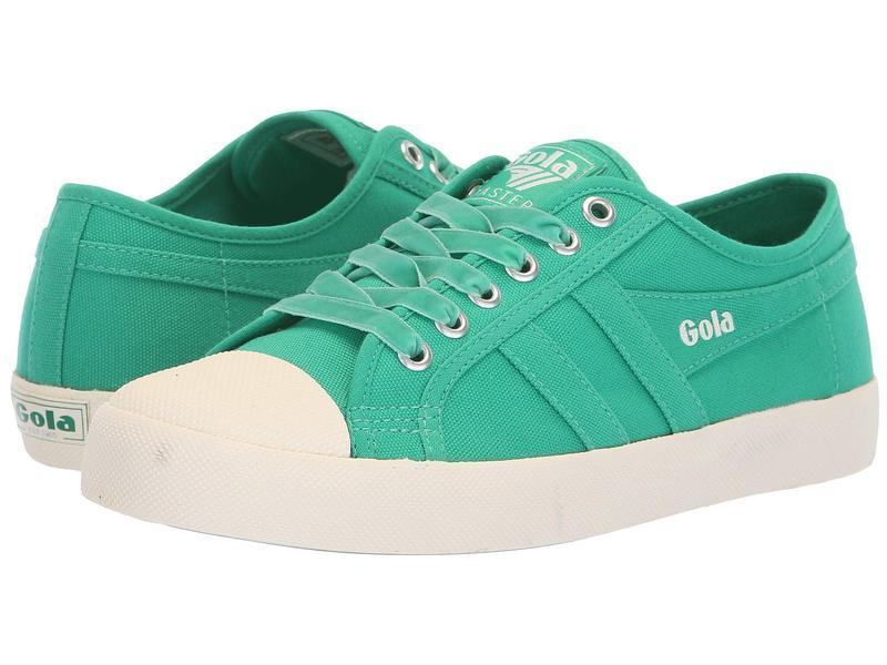 ゴラ レディース スニーカー シューズ Coaster Emerald Green/Off-White