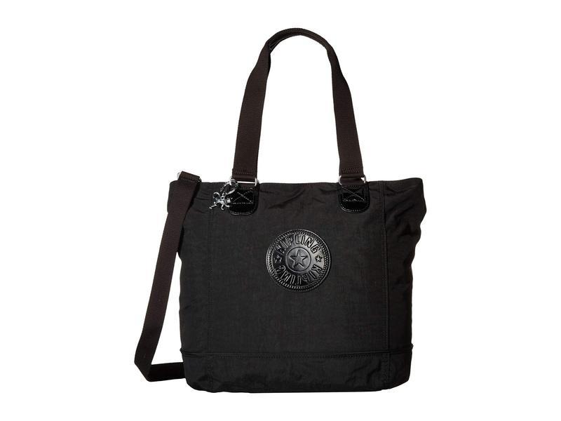 キプリング レディース ハンドバッグ バッグ Shopper Tote Black