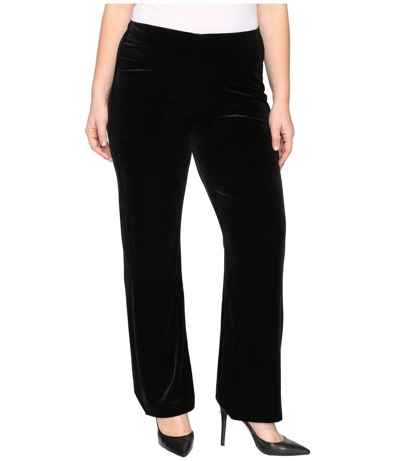 リジー レディース カジュアルパンツ ボトムス Plus Size Velvet Pants Black