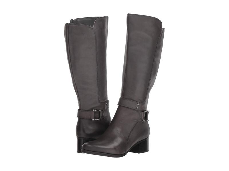 ナチュライザー レディース ブーツ・レインブーツ シューズ Dane Wide Calf Grey Leather