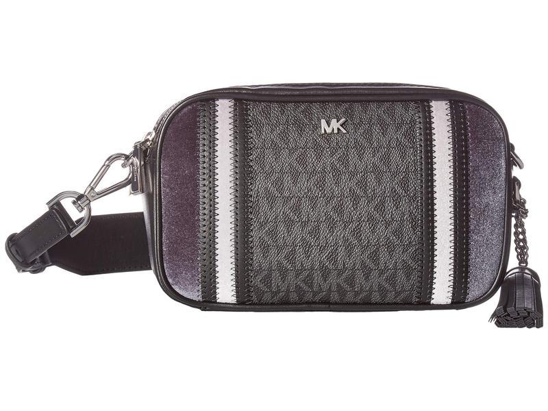 マイケルコース レディース ハンドバッグ バッグ Small Camera Bag Black/Pearl Grey/Charcoal