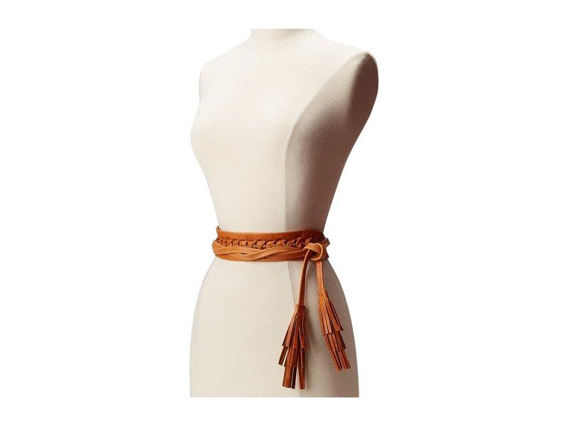 アダ レディース ベルト アクセサリー Ava Wrap Belt Cognac