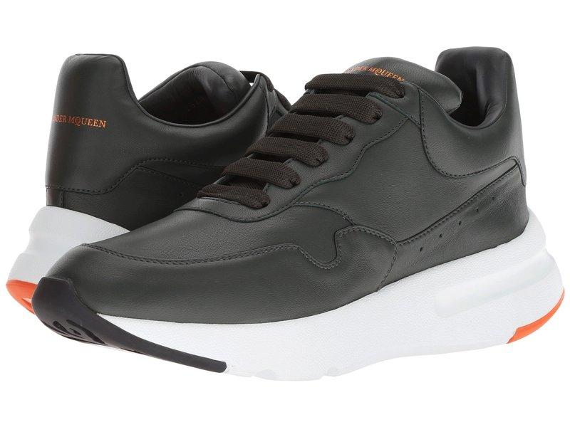 アレキサンダー・マックイーン メンズ スニーカー シューズ New Runner Sneaker Peat