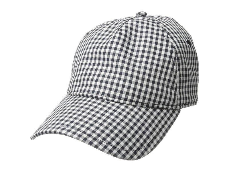 ラグアンドボーン レディース 帽子 アクセサリー Marilyn Baseball Cap Navy Gingham