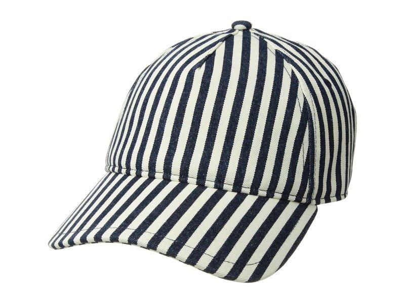 ラグアンドボーン レディース 帽子 アクセサリー Marilyn Baseball Cap Navy/Natural Stripe