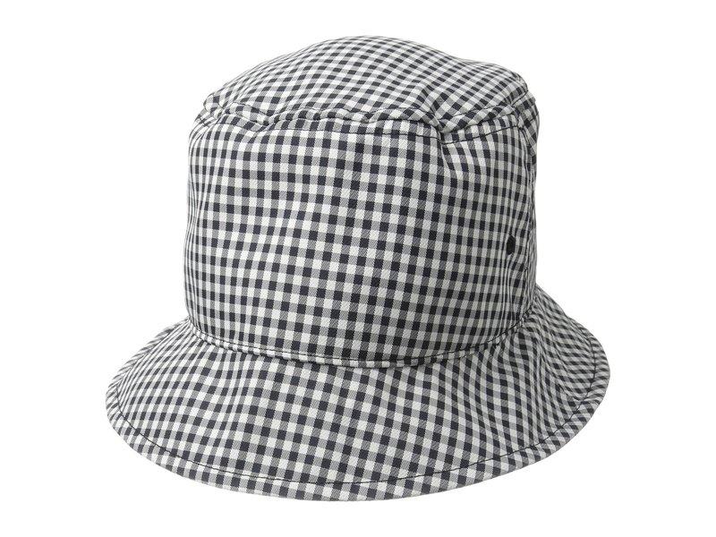 ラグアンドボーン レディース 帽子 アクセサリー Ellis Bucket Hat Navy Gingham