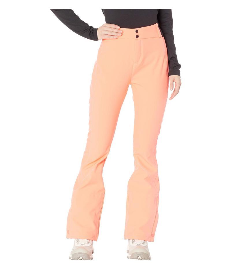 オニール レディース カジュアルパンツ ボトムス Blessed Pants Neon Tangerine Pink