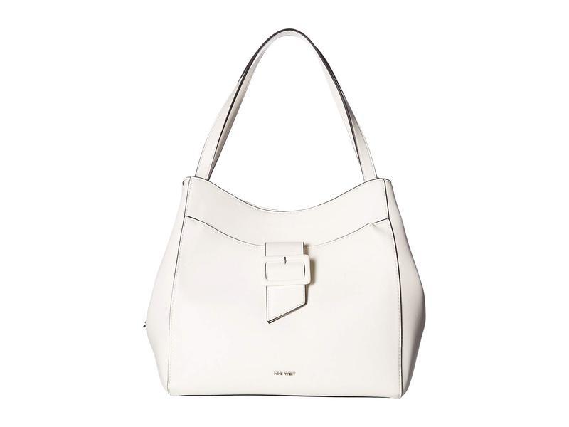 ナインウェスト レディース ハンドバッグ バッグ Cypress Jetset Shoulder Bag White