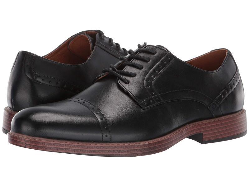 ノンブッシュ メンズ オックスフォード シューズ Parson Cap Toe Oxford Black