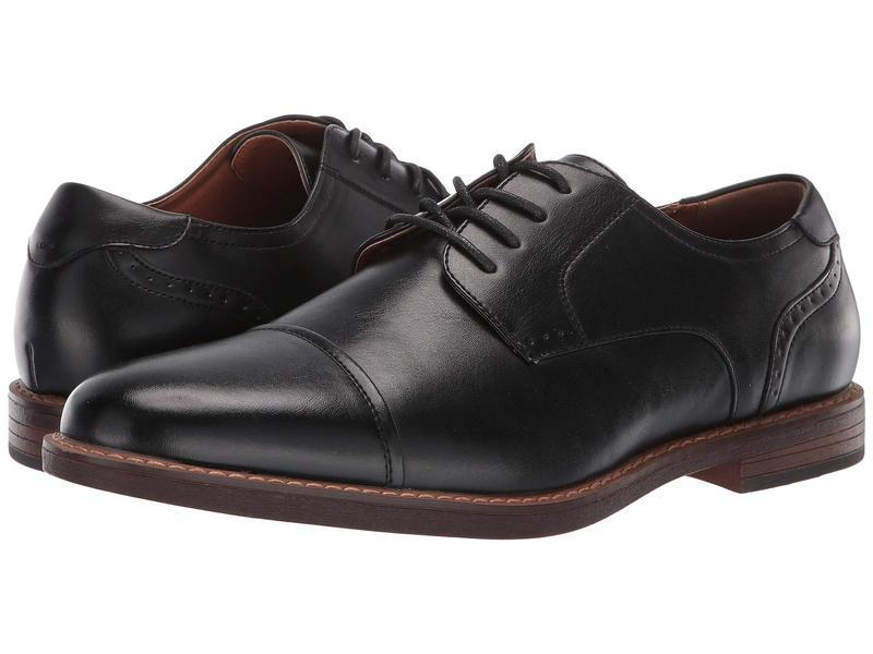 ノンブッシュ メンズ オックスフォード シューズ Royce Cap Toe Oxford Black