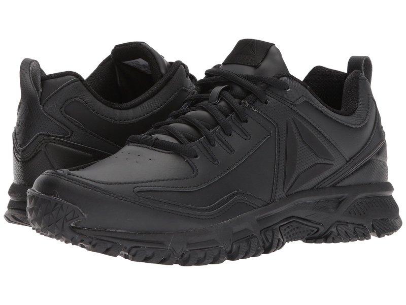 リーボック メンズ スニーカー シューズ Ridgerider Leather Black/Black/Black