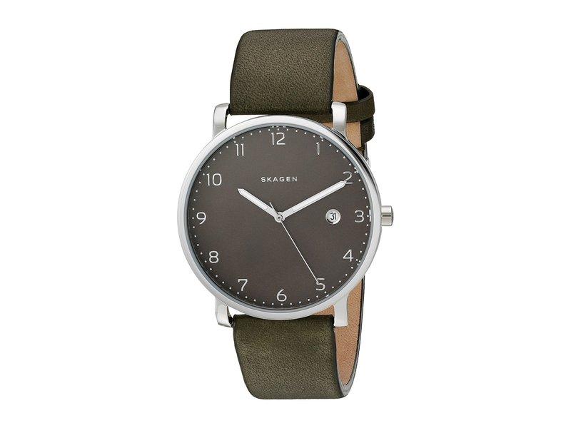 スカーゲン メンズ 腕時計 アクセサリー Hagen SKW6306 Green/Stainless Steel
