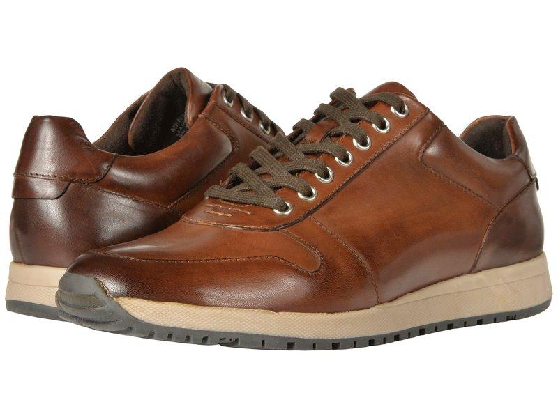 ステイシーアダムス メンズ スニーカー シューズ Axel Retro-Runner Lace Up Sneaker Brown