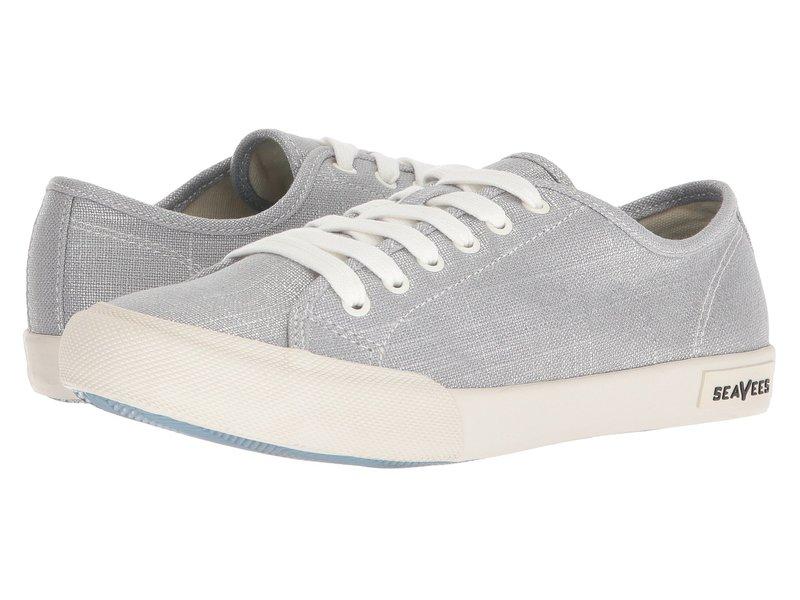 シービーズ レディース スニーカー シューズ Monterey Sneaker Metallic Silver