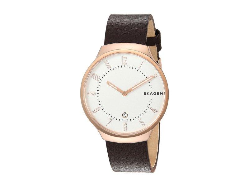 スカーゲン メンズ 腕時計 アクセサリー Grenen - SKW6458 Brown