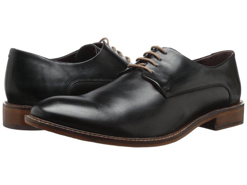 テッドベーカー メンズ オックスフォード シューズ Irron 2 Black Leather