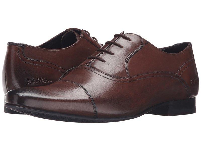 テッドベーカー メンズ オックスフォード シューズ Rogrr 2 Brown Leather