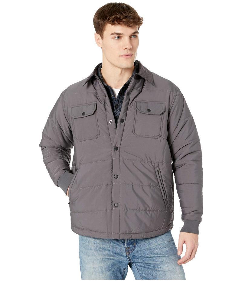 トゥーオンザノーズ メンズ コート アウター Pines Quilted Jacket Charcoal