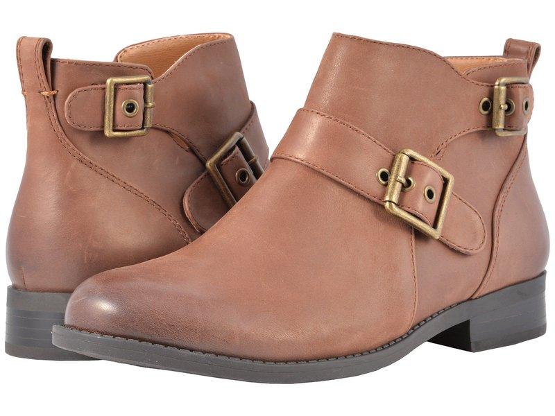 バイオニック レディース ブーツ・レインブーツ シューズ Country Logan Ankle Boots Dark Brown