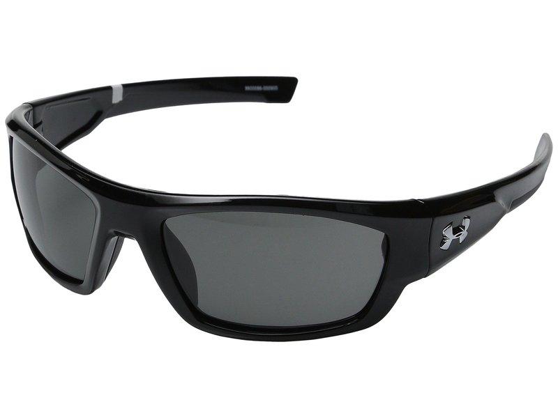 アンダーアーマー メンズ サングラス・アイウェア アクセサリー UA Force Shiny Black/Charcoal Gray/Gray Lens
